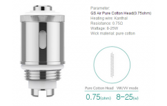 iSmoka-Eleaf GS Air Pure Cotton žhavící hlava 0,75ohm