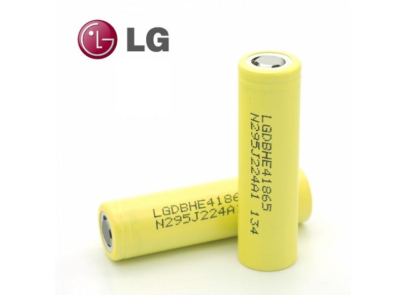 LG HE4 18650 2500 mAh 35A