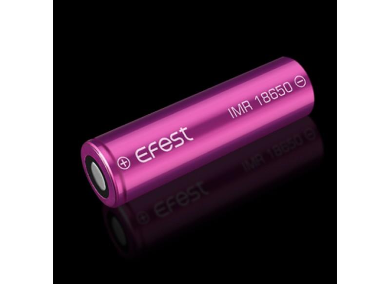 Efest baterie typ 18650 3100mAh 20A