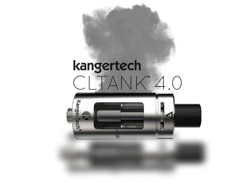 KangerTech CLTANK clearomizér - 2ml stříbrná