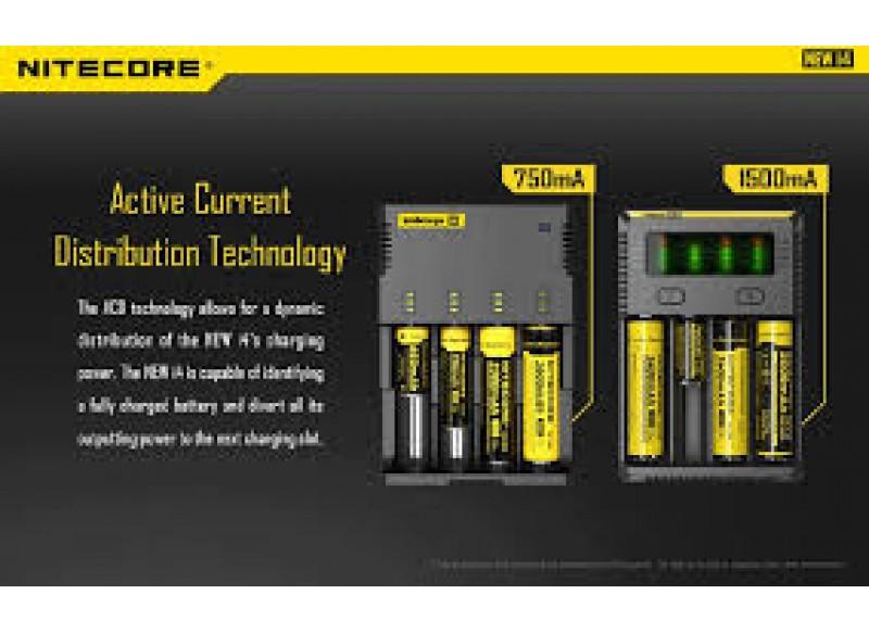 Nitecore Intellicharger i4 V2 multifunkční nabíječka baterií